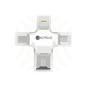 COTEetCI 3in1 Multifunctional Adapter