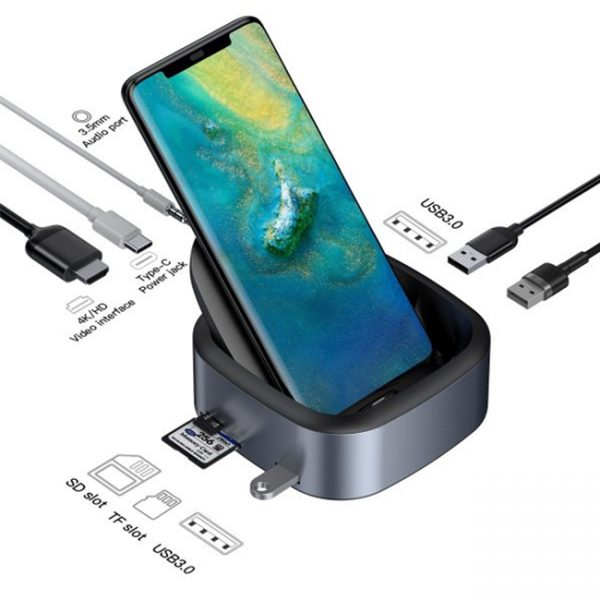 Baseus-Mate-Docking-Type-C-Mobile-Phone-Intelligent-HUB-Expanded-Socket-1