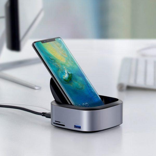 Baseus-Mate-Docking-Type-C-Mobile-Phone-Intelligent-HUB-Expanded-Socket-6