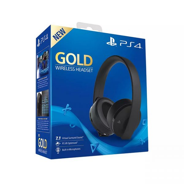 Sony GOLD Wireless PS4 Headset