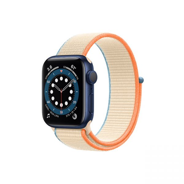 Apple-Watch-Series-6-42MM-Blue-Aluminum-GPS---Sport-Loop-Cream