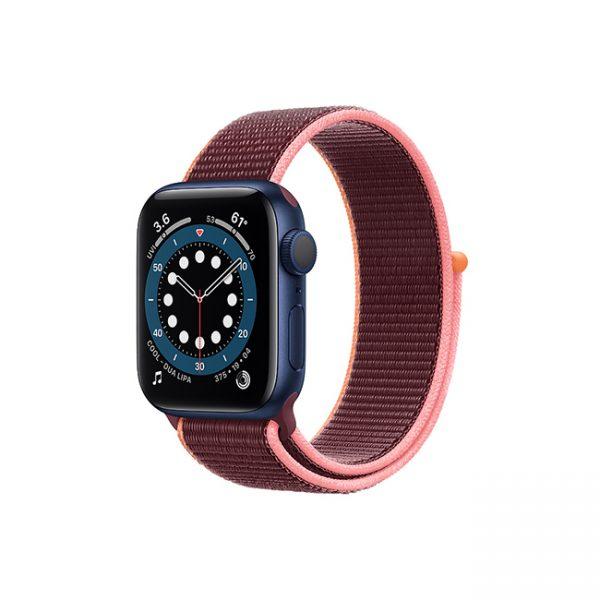 Apple-Watch-Series-6-42MM-Blue-Aluminum-GPS---Sport-Loop-Plum