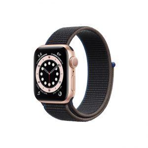 Apple-Watch-Series-6-42MM-Gold-Aluminum-GPS---Sport-Loop-Charcoal