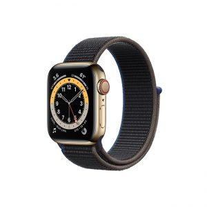 Apple-Watch-Series-6-42MM-Gold-Stainless-Steel-GPS-+-Cellular---Sport-Loop-charcoal