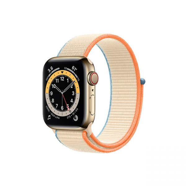 Apple-Watch-Series-6-42MM-Gold-Stainless-Steel-GPS-+-Cellular---Sport-Loop-cream