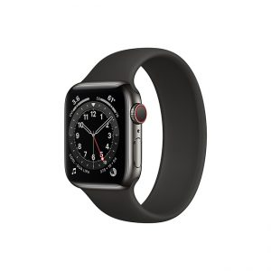 Apple-Watch-Series-6-42MM-Graphite-Stainless-Steel-GPS-+-Cellular---Solo-Loop-black