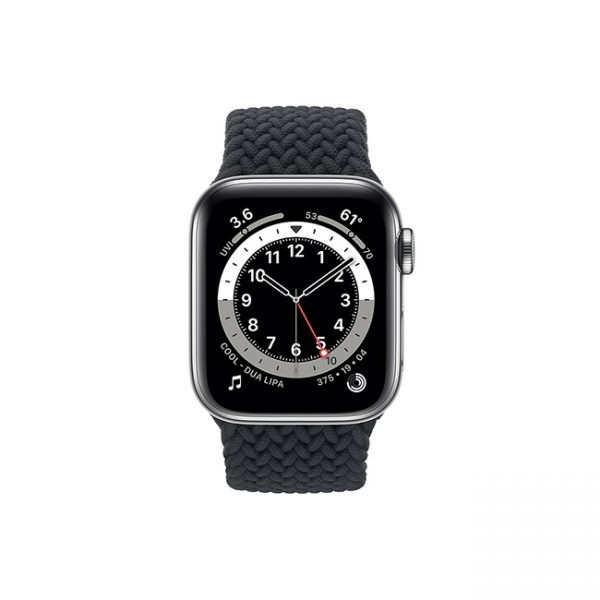 Apple-Watch-Series-6-42MM-Silver-Stainless-Steel-GPS-+-Cellular---Braided-Solo-Loop