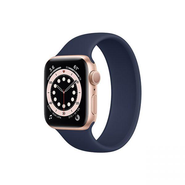 Apple-Watch-Series-6-42mm-Gold-Aluminum-GPS---Solo-Loop-Deep-Navy