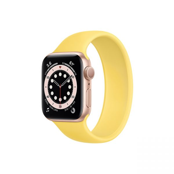 Apple-Watch-Series-6-42mm-Gold-Aluminum-GPS---Solo-Loop-Ginger