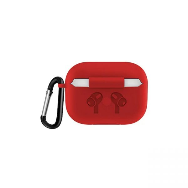 Airpods-Pro-Hang-Silicone-Case-Red