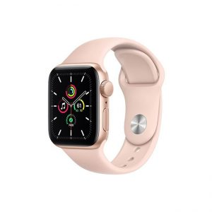 Apple-Watch-SE-40MM-Gold-Aluminum-GPS---Pink-Sand-Sport-Band