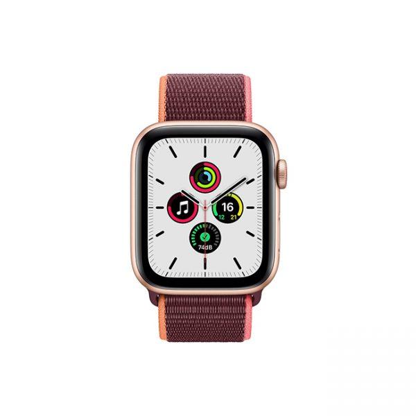 Apple-Watch-SE-44MM-Gold-Aluminum-GPS-+-Cellular---Plum-Sport-Loop-1