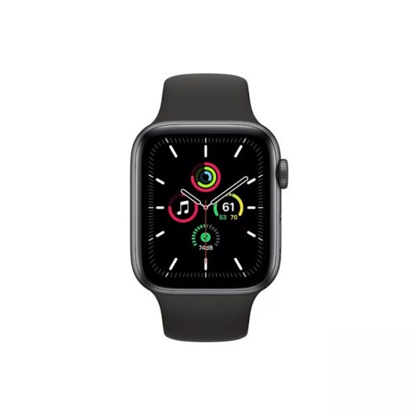 Apple-Watch-SE-44MM-Space-Gray-Aluminum-GPS---Black-Sport-Band-1