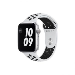 Apple-Watch-Series-6-Nike-44MM-Silver-Aluminum-GPS--Pure-Platinum---Black-Nike-Sport-Band