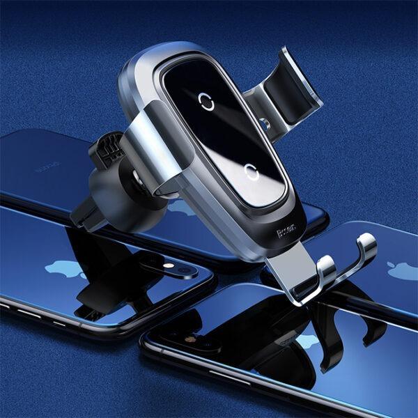 Baseus-Metal-Wireless-Charger-Gravity-Car-Mount-(Air-Vent-Version)-2