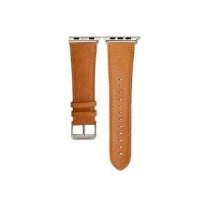 Santa-Barbara-Genuine-Leather-Strap-for-Apple-Watch-Light-Brown